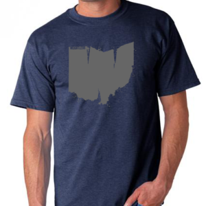 weightless ohio t-shirt
