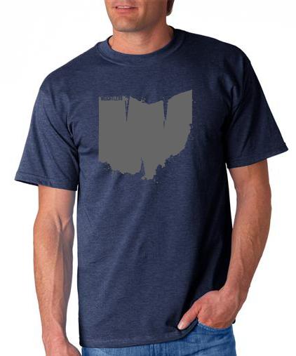 weightless ohio t-shirt